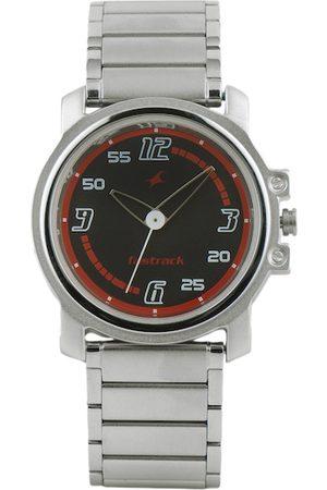 Fastrack Men Black Dial Watch 3039SM08