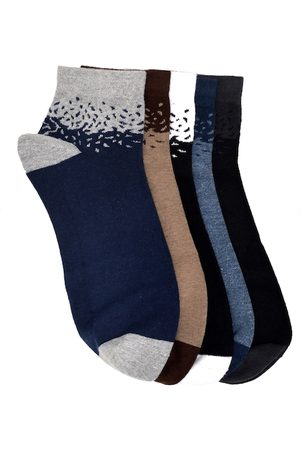 Marc Unisex Set of 5 Ankle-Length Socks