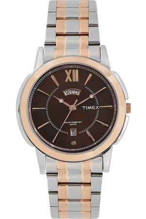 Timex Men Brown Analogue Watch TW000U312