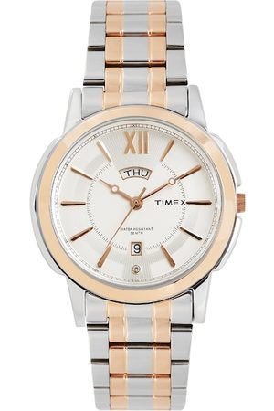 Timex Men White Analogue Watch TW000U311