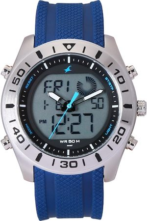 Fastrack Men Blue Analogue and Digital Watch 38034SP02