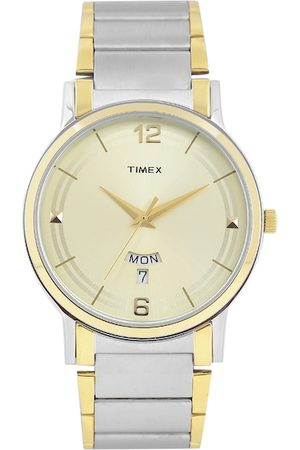 Timex Men Gold-Toned Analogue Watch TW000R426