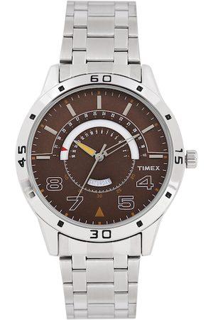 Timex Men Brown Multi-Function Analogue Watch TW000U906