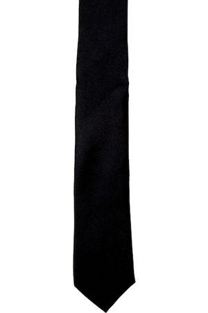 Blacksmith Men Black Skinny Tie