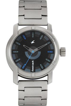 Fastrack Men Black Dial Watch 3021SM01