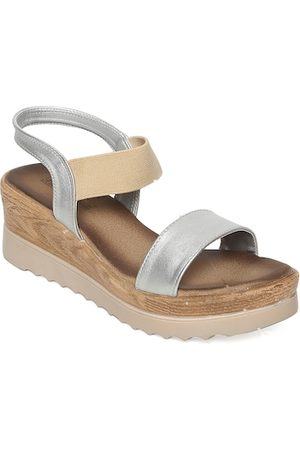 BRUNO MANETTI Women Silver-Toned Solid Wedges