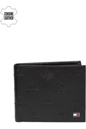 Tommy Hilfiger Men Brown Two Fold Leather Wallet