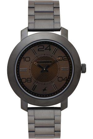 Fastrack Men Brown Dial Watch 3120NM02