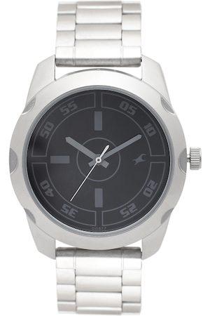 Fastrack Men Black Dial Watch 3123SM01