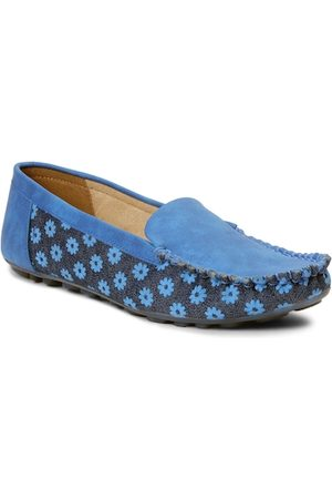 meriggiare Women Blue Loafers