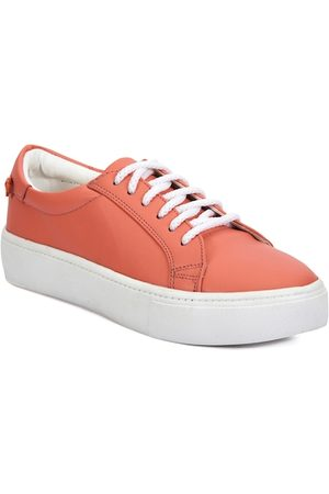meriggiare Women Peach-Coloured Sneakers