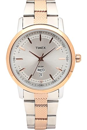 Timex Men Silver-Toned Analogue Watch TW000G912