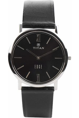 Titan Edge Men Black Dial Watch NH679SL02A