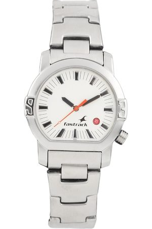 Fastrack Men White Dial Watch N1161SM03