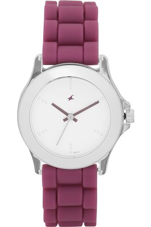 Fastrack Women White Analogue Watch NK9827PP06_OR