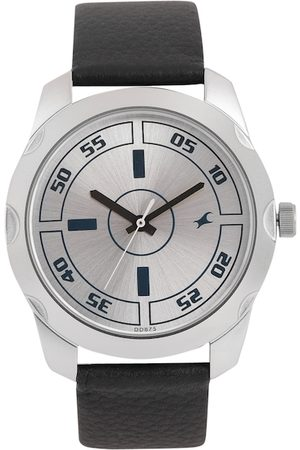 Fastrack Men Silver-Toned Analogue Watch