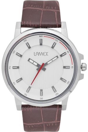Lamex Men White Analogue Watch BIONDLX 8545