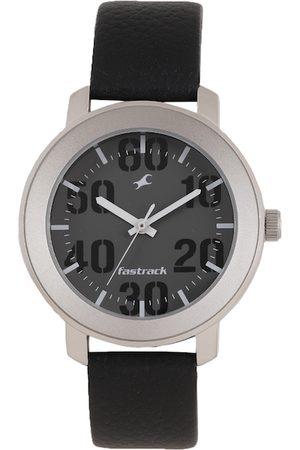 Fastrack Bare Basics Men Grey Analogue watch NL3121SL02