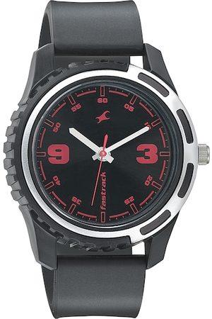 Fastrack Men Black Dial Watch 3114PP03