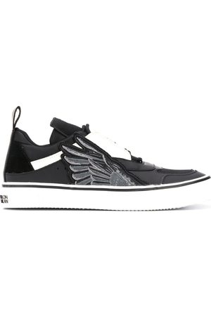MARCELO BURLON SIDE WINGS VULCANIZED SNEAKER BLAC
