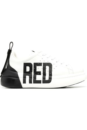 RED Valentino RED(V) Bowalk two-tone sneakers
