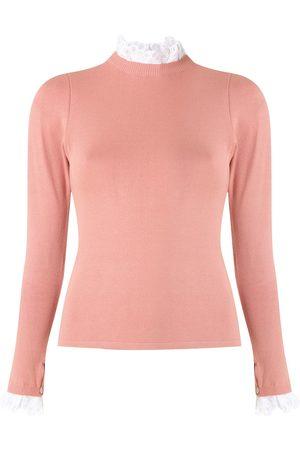 MARTHA MEDEIROS Explosão knitted blouse