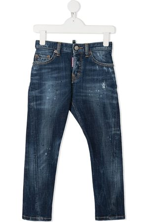 Dsquared2 Twist distressed slim-fit jeans