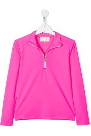 Natasha Zinko TEEN Here Comes Trouble zip-up top