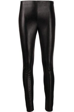 Karl Lagerfeld Metallic stretch leggings