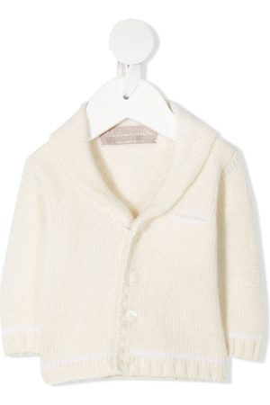 LA STUPENDERIA Wool shawl-collar cardigan