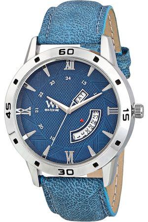 WM Men Blue Analogue Leather Watch DD-046