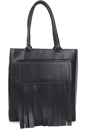 Diwaah Black Solid Shoulder Bag