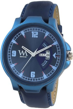 WM Men Blue Analogue Watch