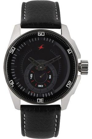 Fastrack Men Black Dial Watch 3089SL04