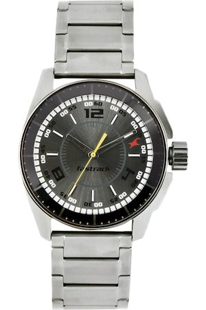 Fastrack Men Charcoal Grey Dial Watch 3089SM02