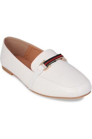 Pelle Albero Women White Slip-On Sneakers