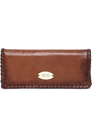 Hidesign Women Tan Solid Two Fold Wallet