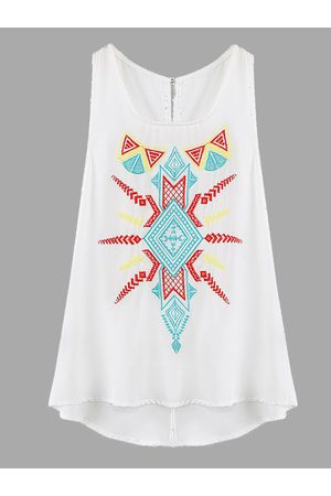 YOINS Swing Tank Top With Embroidery