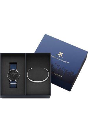 Daniel Wellington Men Classic Bayswater Watch & Classic Bracelet Large Gift Set DW00500426