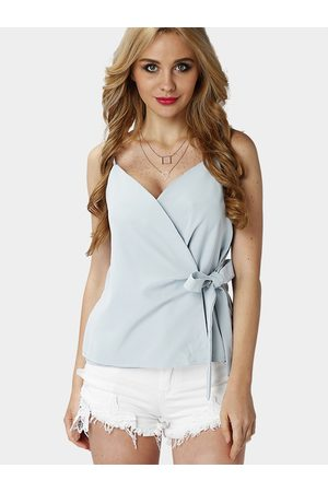 YOINS Women Vests - Sexy Strappy Cami Top with Bowknot