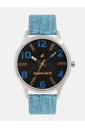 Fastrack Men Black Analogue Watch 3184SL02