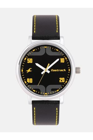 Fastrack Men Black Analogue Watch 38052SL05