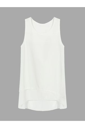 YOINS Layered Tank Top In Ivory