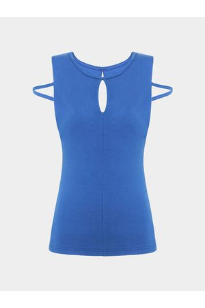 YOINS Sleeveless Top With Cut Out Back