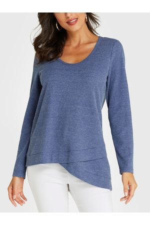 YOINS Round Neck Long Sleeves Tee