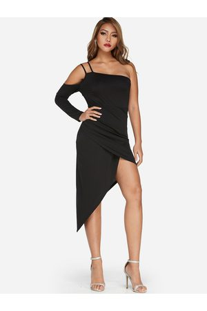 YOINS Backless Crossed Front Party Dresses