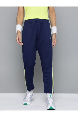 HRX Women Medieval Blue Solid N9 Rapid Dry Cricket Track Pants