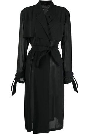 La Perla Sheer trench coat