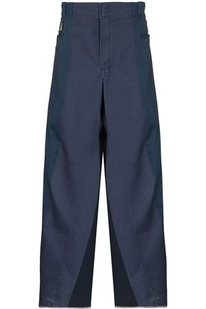 LIAM HODGES Panelled loose-fit trousers