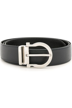 Salvatore Ferragamo Men Belts - Gancini reversible belt